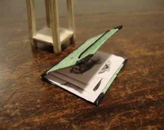 dollhouse miniature folder of painter for drawings