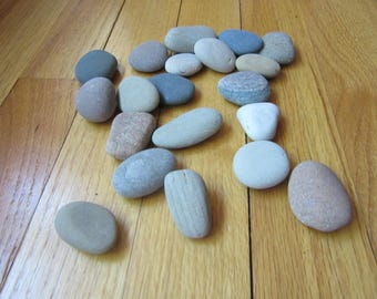 20 Beach Stones Paint a Rock Children Rock Painting Supplies Rocks Lake Michigan Beach Stones