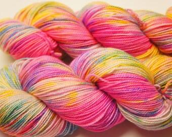 Color Run...Toula, 80/20 Superwash Fingering Sock Weight