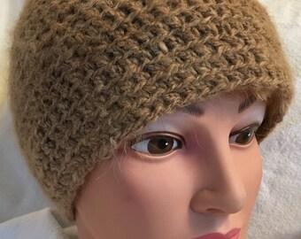 Alpaca Slouch Hat