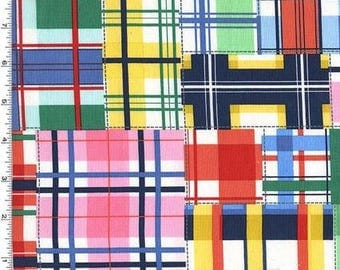 Summer Madras Patch Plaid From Michael Miller
