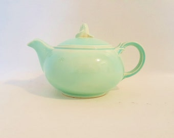 Vintage Luray Teapot Pastel Luray China Pastel Green Teapot 1930-1940 Vintage  Luray Mint Green 4 Cup Teapot Vintage Taylor Smith Taylor