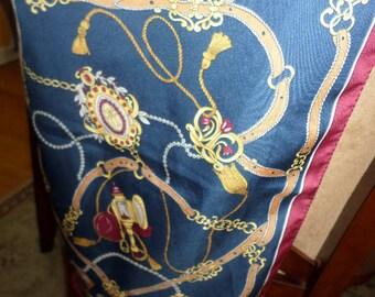 Scarf Western Style, Rectangle/LIZ SINCLAIR/ITALY/Feels like Silk
