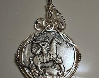Saint George Medal Pendant