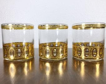 Culver Antigua Highball Glasses Set of 3
