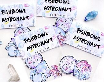 III. fishbowl astronaut set | STICKER