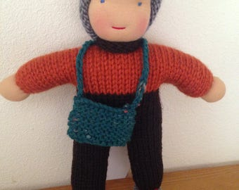 BOY DOLL / GNOME/Handknit
