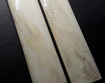 4.5 inch Smooth Genuine Buffalo Bone Material For Blank Blade Knives