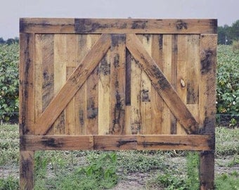 Headboard Barn Door Rustic Farmhouse By Foo Foo La La