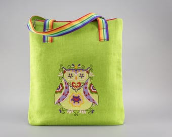SALE - Girl's Owl. Gifts for girls