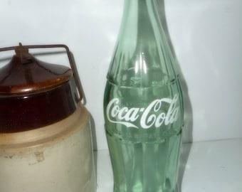 Coke Bottle , Vintage Coke Bottle, 1950s Coke Bottle,26 oz Coca Cola