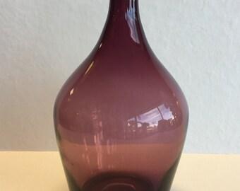 Vintage Blown Glass Amethyst Jug