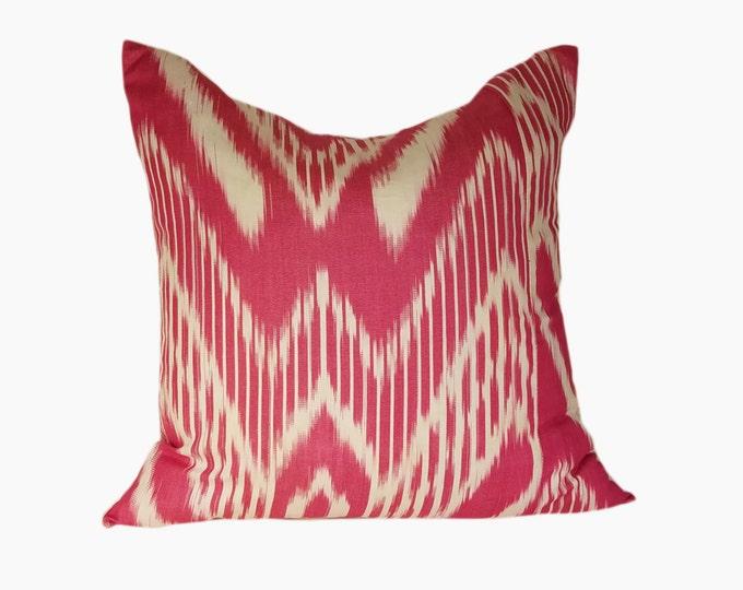 Ikat Pillow, Ikat Pillow Cover, Ikat throw pillows, Designer pillows, Decorative pillows, Accent pillows