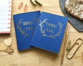 Customized Wedding Vow Notebook (Set of 2)
