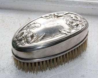 Antique Victorian Brush Sanitax 1901