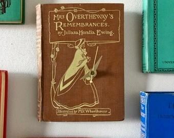 mrs overtheway's rememberances book clock