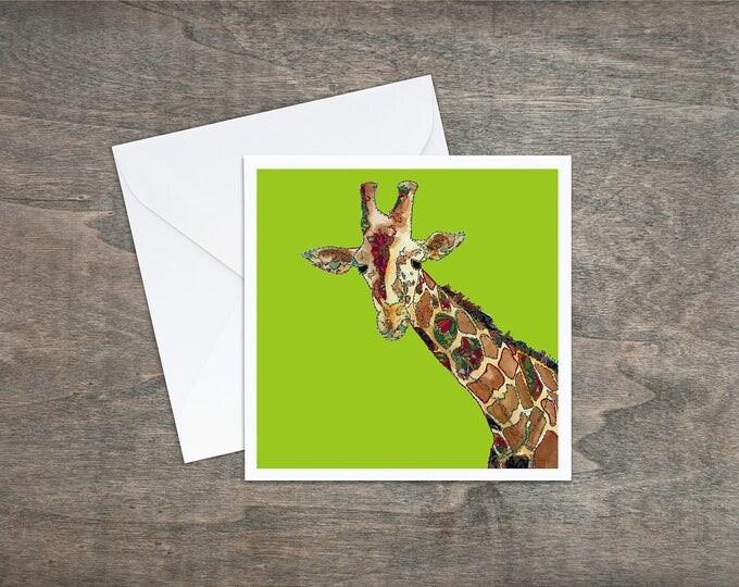 Giraffe - Art Card