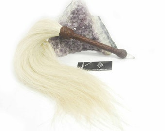 Flogger with Horse Hair falls and Crystal end piece