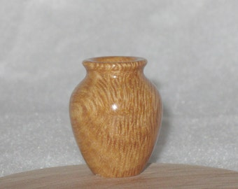 Australian Corkwood Turned Miniature Vase