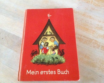 Mein Erstes Buch My First Book Vintage German Book for Children