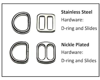 "Upgrade to Stainless Steel Hardware - 3/4"" (19mm) Collar Upgrade - Nylon Collar Upgrade"