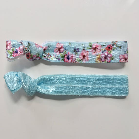 hair tie bracelets, beach bracelets, shabby chic jewelry, party favour, friendship bracelets, floral bracelet, girl gift