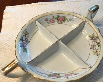 """7"""" Nippon hand painted plate"""