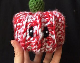 Candy cane pumpkin  OOAK