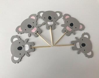 Koala Cupcake Toppers