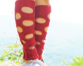 Soft Grey Boot Cuffs with Lace, Women legwarmers. Boot socks, legwarmers. Handmade soft organic knitting.