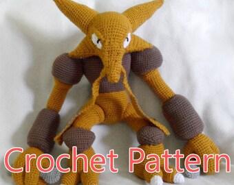 Alakazam Crochet Pattern
