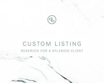 Custom Listing | morgan wood