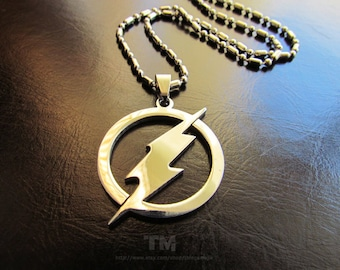 PRE-ORDER: The Fastest Man Alive – Flash Inspired Necklace