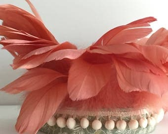 Feathered head band