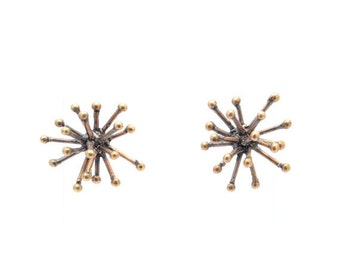 40% OFF // jacks earrings - bronze
