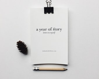 Letters to Myself: A Year of Story Journal Prompts for Memory Keeping Story Starters Journal Printable Memoir Writing Prompts Story Prompts