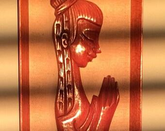 Vintage Praying Thai Buddha