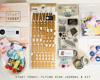 Start Today - Flying High Notebook & Scrapbook Kit