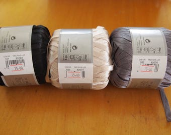 Katia Chic Ribbon yarn -made in Spain - SALE - only 4.99 instead of 10.0 USD