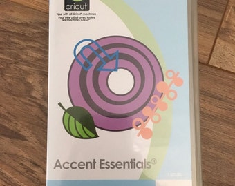 Accent Essential Cricut Cartridge