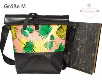 """Messenger-bag """"Cherry Blossom Grey"""""""