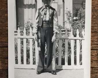 Original Vintage Photograph The Man From Spain