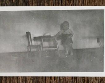 Original Vintage Photograph Baby's First Birthday