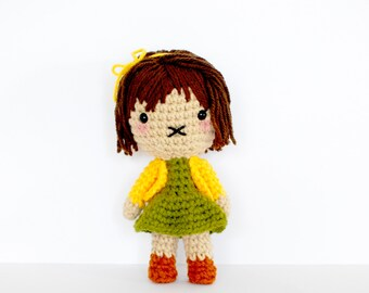 Sarah - Roseberry Town Collection - Original Amigurumi Plush Doll by Roseberry Arts