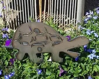 TURTLE Metal Garden Stake