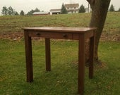 Reserved Listing for Dave for a Small Walnut Writing Table