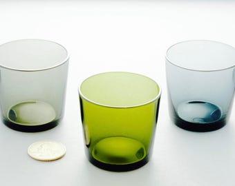 Set of 5 Vintage 1960s Kaj Franck Nuutajarvi Shot Glasses