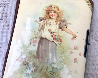 Beautiful Victorian Photograph Album for Project