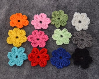 Extra flower options for changable headband