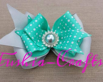 Delicate and Beautiful Handmade Hair Bow